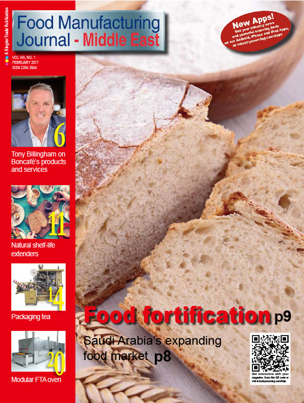 Food Manufacturing Journal – Middle East